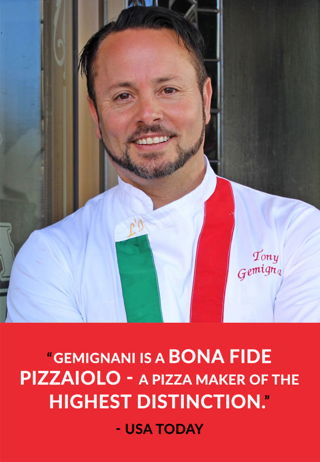 Tony Gemignani - USA Today
